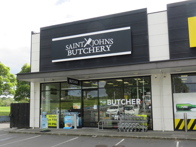 Saint Johns Butchery Store Front