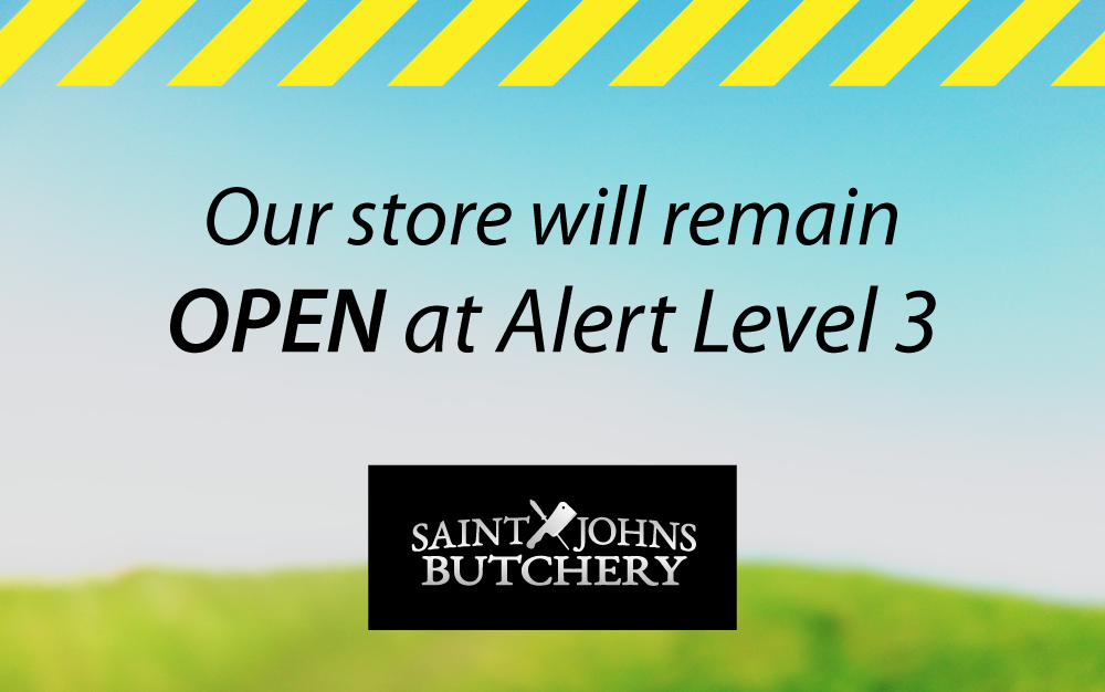 COVID-19 Alert Level 3 ... Our store is OPEN!